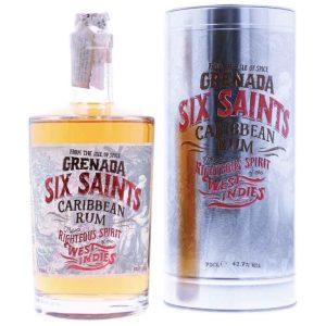 Six Saints Caribbean Rum Cutie Metal 0.7L