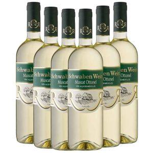 Recas Schwaben Wein Muscat 6 x 750ml