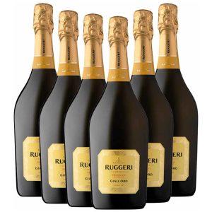 Ruggeri Giall'Oro Prosecco Superiore Extra Dry 6 x 750ml