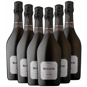 Ruggeri Salter Valdobbiadene Prosecco Superiore Extra Brut 6 x 750ml